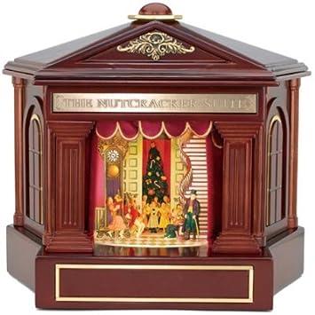 Amazon.com: Mr. Christmas Nutcracker Suite Animated Wooden-house ...