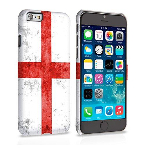 Caseflex iPhone 6 Plus / 6S Plus Hülle Retro England Flagge Hart Schutzhülle (Kompatibel Mit iPhone 6 Plus / 6S Plus - 5.5 Zoll)