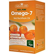 Natures Aid 500mg Sea Buckthorn Oil Capsules - Pack of 90