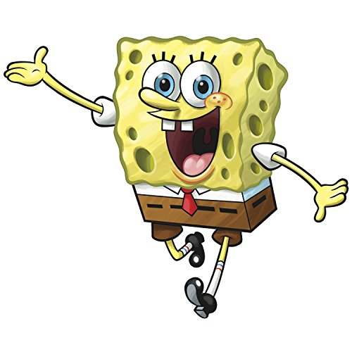 Squarepants Sticker Spongebob - RoomMates Spongebob Squarepants Peel and Stick Giant Wall Decal