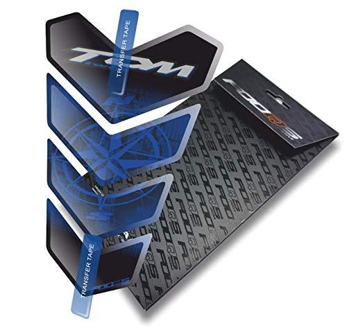 Tankpad voor Yamaha TDM 850 900 Twin (Zwart/Blauw)