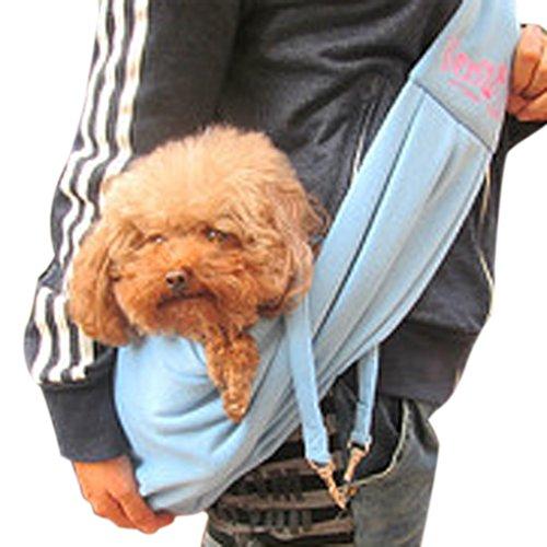 FakeFace® Haustier Transporttasche Puppy Hund Katze Handtasche Single-Schulter Tragetasche Tiertransportbox aus Baumwolle