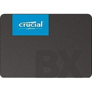 Crucial BX500 CT960BX500SSD1(Z) - Disco Duro Sólido Interno SSD de 960 GB (3D NAND, SATA, 2,5 pulgadas)