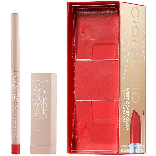 Maybelline New York Gigi Hadid Lipstick and Lip Liner Kit, Austyn