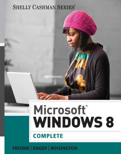 Microsoft Windows 8: Complete (Shelly Cashman) Pdf