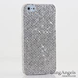iphone 5 case bling crystal - Bling iPhone SE, iPhone 5 / 5S Case, LUXADDICTION [Premium Handmade Quality] Luxury Genuine Clear Crystals Rhinestone Protective Diamond Sparkle Cover (Authentic Clear Crystals)