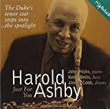 Just for You by Harold Ashby (1999-06-01)