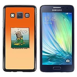 LECELL--Funda protectora / Cubierta / Piel For Samsung Galaxy A3 -- La pintura en la cabeza --