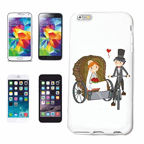 "cas de téléphone iPhone 7+ Plus ""COUPLE DE MARIAGE AVEC VÉLO DE MONTAGNE DE BICYCLETTE REPARATION RITCHKA CYCLISME SPORT BIKE TOUR VELO SHIRT"" Hard Case Cover Téléphone Covers Smart Cover pour Apple i"