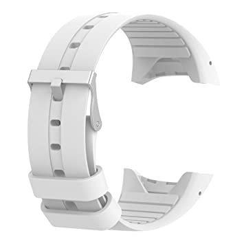Gazechimp 1 Pieza de Muñequera de Repuesto para Reloj Inteligente Polar M400 M430 - Blanco