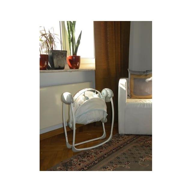 Bright Starts Comfort & Harmony Portable Swing, Vintage Garden  Stationary Baby Swings  Baby