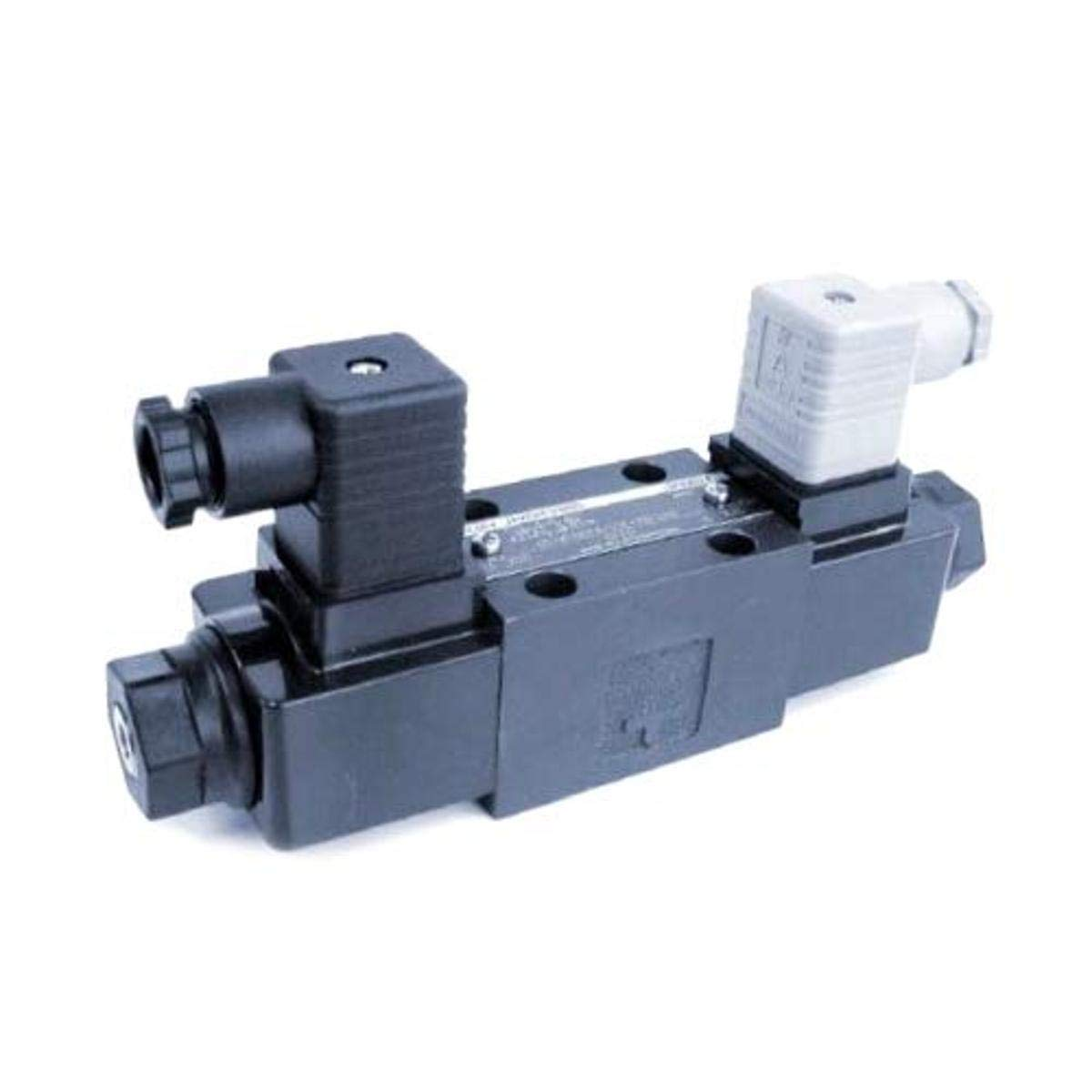 Ltd Yuken Kogyo Co Plug-in Connector Spring Offset Spool Type 4 DSG-01-2B4B-D12-N-7090 1//8 Solenoid Operated Directional Valve D12 Coil