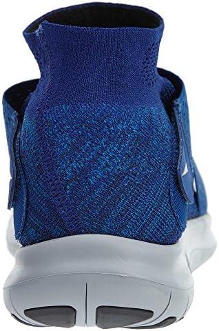 Amazon Com Nike Mens Free Rn Motion Flyknit 2017 Running Shoes 10 D M Us Binary Blue Black Obsidian Road Running