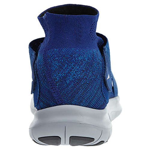 NIKE Men's Free RN Motion Flyknit 2017, Binary Blue/Black-Obsidian, 9.5 US