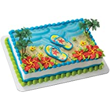 Summer Flip Flops DecoSet Cake Decoration