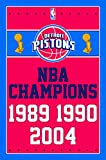 "Trends International Detroit Pistons Champions Wall Poster 22.375"" x 34"""