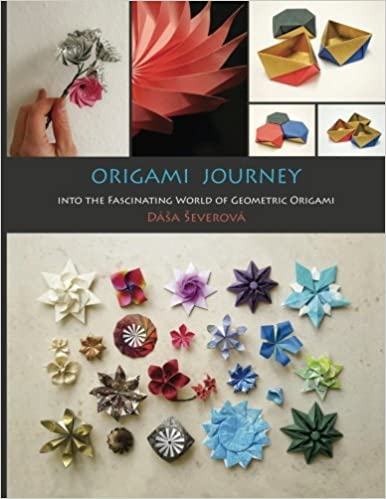 Modular Origami Lotus Flower with 8 Petals - Tutorial - Paper Kawaii | 499x386