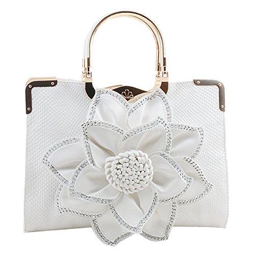 Moda Casual Diamond Messenger Nueva Ms Tide Flower a3 Bolso Portable qgwOF