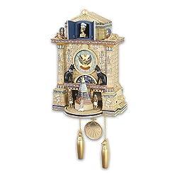 Cuckoo Clock: Treasures Of Ancient Egypt Cuckoo Clock by The Bradford Exchange