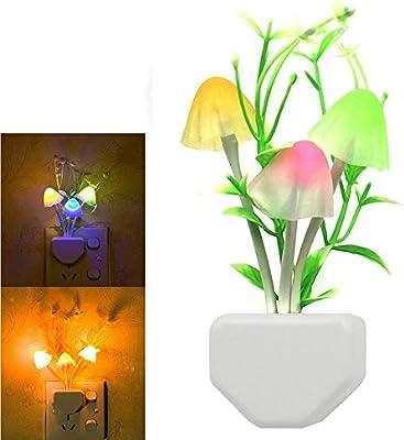 Supplies Illumination Automatic Wall Light Bed Lamp LED Night Mushroom Light