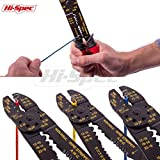 Hi-Spec 4-in-1 Wire Crimpers, Stripper & Mini-Bolt