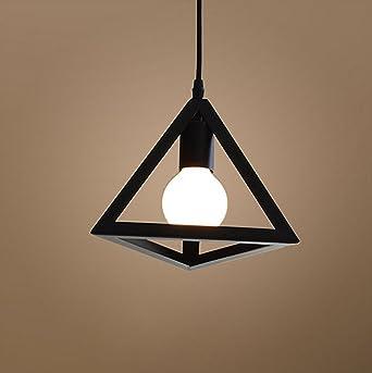 Moderne Noire Luminaire Éclairage Suspensions Metal Edison Plafonnier E27 Géométrie Culot Lustre Forme De 8Pn0wOk