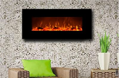 "Touchstone 50"" Electric Wall Mounted Fireplace"