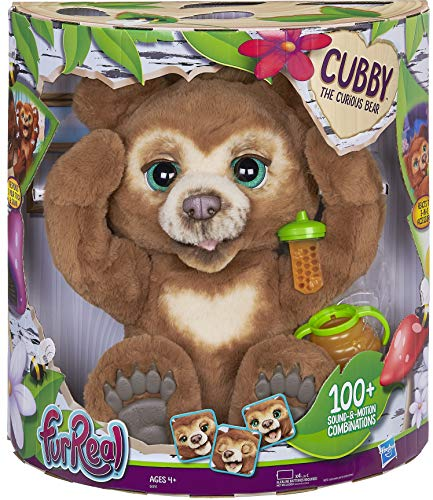 FurReal Cubby is one of the top electronic pets for kids