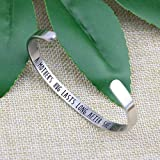 Mom Bracelet Gift for Mother's Day Mantra Cuff