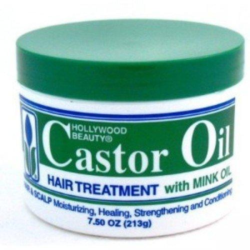 Hollywood Beauty Castor Oil Hair Treatment with Mink Oil 7.5 Ounce