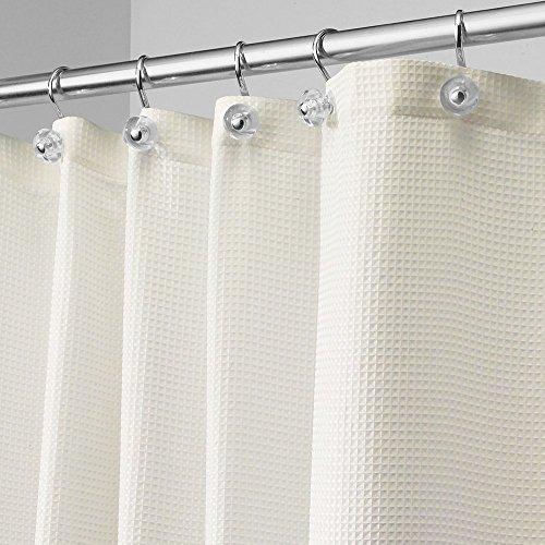 Interdesign Carlton Fabric Shower Curtain 72 X 84 Natural Home Garden Bathroom Accessories