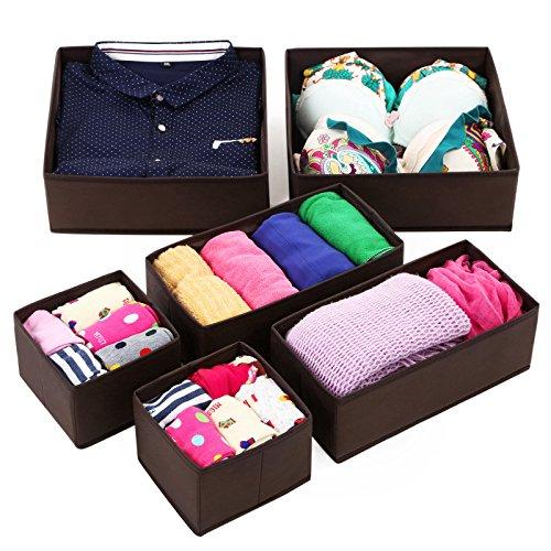 SONGMICS Foldable Underwear Organizer URDB16K