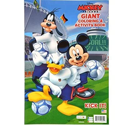 Disney Mickey Mouse and Friends Giant Coloring & Activity Book: Toys & Games