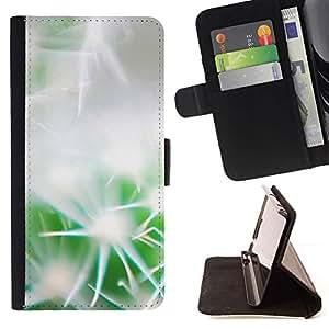 For Sony Xperia Z1 L39 Case , Cactus Gentle- la tarjeta de Crédito Slots PU Funda de cuero Monedero caso cubierta de piel