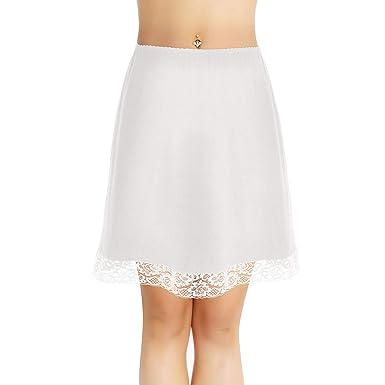 d19e614d52739f iiniim Jupon Crinoline Dentelle Coton Femme Fille Jupon sous Jupe  Rockabilly Petticoat Rétro Vintage Jupe de Hanche Fête Mariage Jupette Bal  Jupe de ...