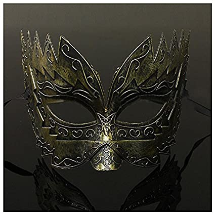 947e518a1f07 Morrenz - 1 pcs Men s Masquerade Mask Ball Masks Stag Party Fancy Dress  Venetian Eye
