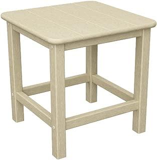 """product image for POLYWOOD SH18SA Seashell 18"""" Side Table, Sand"""