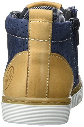 BULLBOXER Jungen Ahm500e5l High-Top Blau (darkblue/camel)