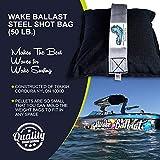 wake ballast Steel Shot Bag (50 Lb.) for Wakesurf