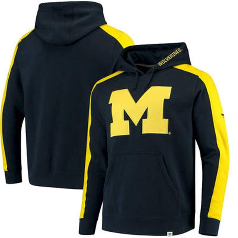 CHERSH Michigan State University Wolverines Michigan Wolverines Sudadera con Capucha Ropa de Baloncesto