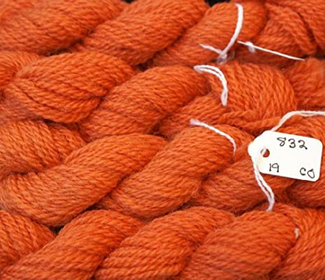 969-Christmas Red Paternayan Needlepoint 3-ply Wool Yarn-Color