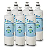 6 Pack Tier1 LT700P Replacement for ADQ36006101 LG, ADQ36006102, LT700P, Kenmore 469690, 469918, ADQ36006101S Refrigerator Water Filter