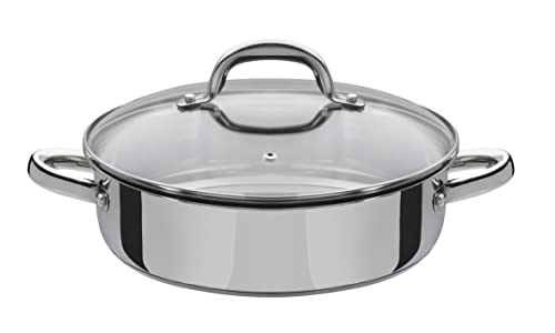 Viners Stainless Steel Saut 233 Pan Non Stick Ceramic