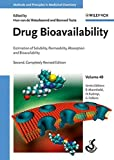 img - for Drug Bioavailability: Estimation of Solubility, Permeability, Absorption and Bioavailability, Volume 40 book / textbook / text book