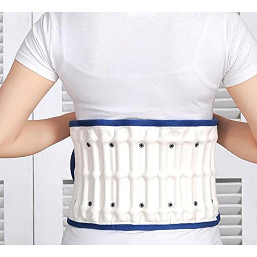 LPY-Lumbar Support Lumbar Disc Herniation Massager Spinal Air Traction Back Belt LM-61 by Waist support (Image #6)