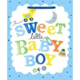 'Sweet Little Baby Boy' Gift Bag Medium Value Pack | 24 Ct