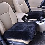 Binmer(TM) Car Faux Sheepskin Rug Chair Cover Artificial Wool Warm Hairy Carpet Seat Pad Car Seat Cushion