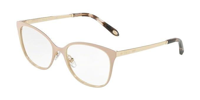 ca8298d60ab5 Tiffany 1837 TF 1130 NUDE PALE GOLD women Eyewear Frames  Amazon.co.uk   Clothing