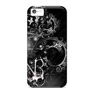 Iphone 5c JHZ8771rnuz Unique Design Stylish Black Veil Brides Skin Scratch Protection Hard Phone Case -LavernaCooney