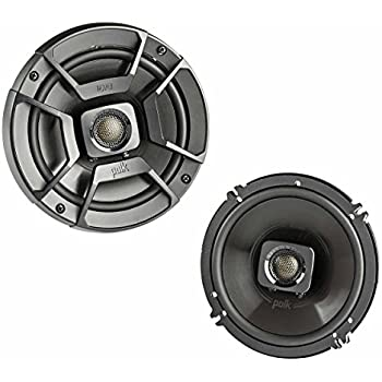 "POLK AUDIO DB652 UltraMarine Dynamic Balance Coaxial Speakers, 6.5"",2 Pack"